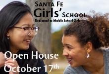 Santa Fe Girls School Open House